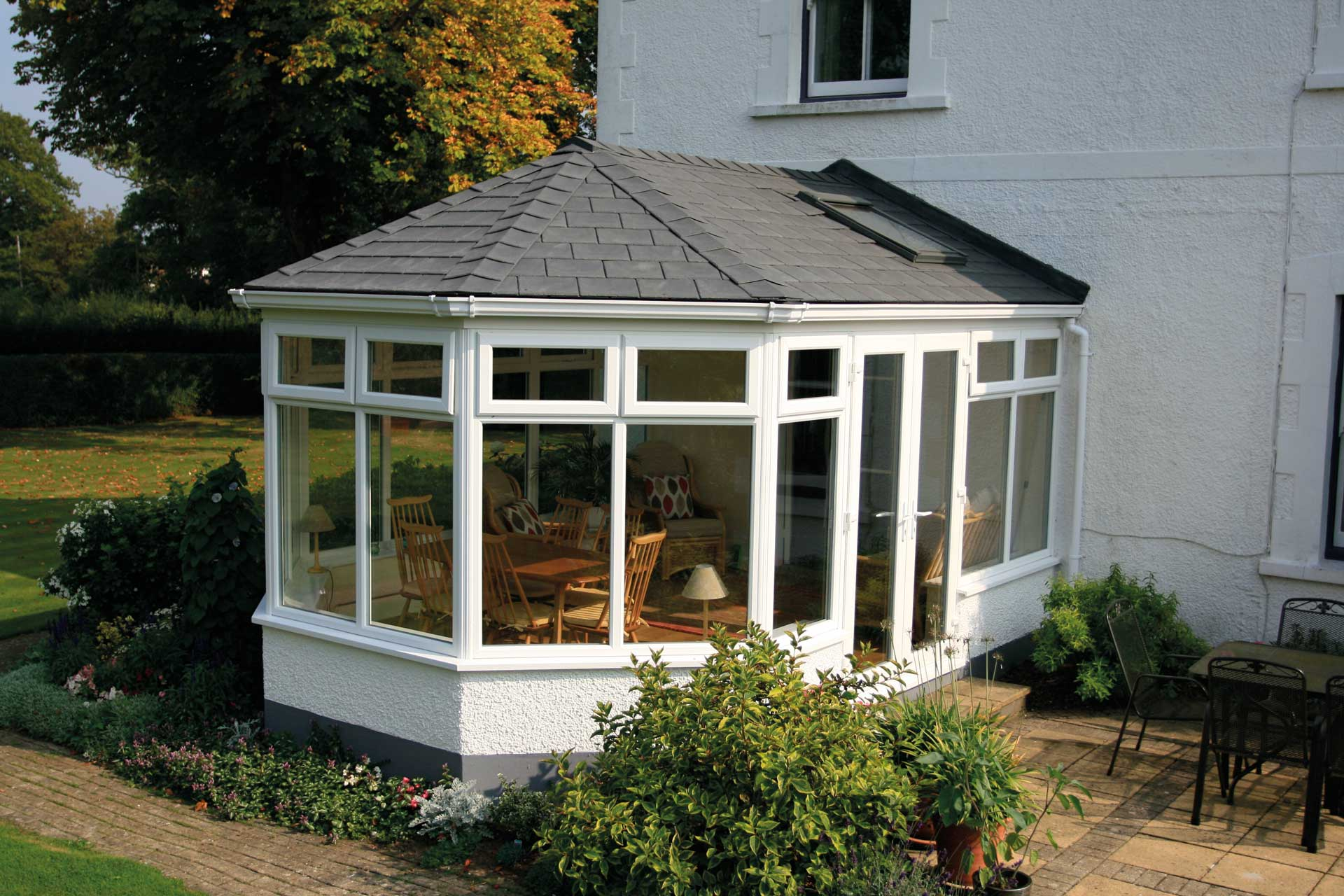 tile conservatory roofs warwick