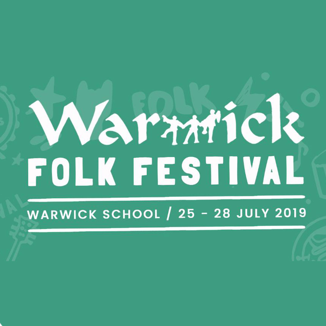 We Are A Warwick Folk Festival Partner!