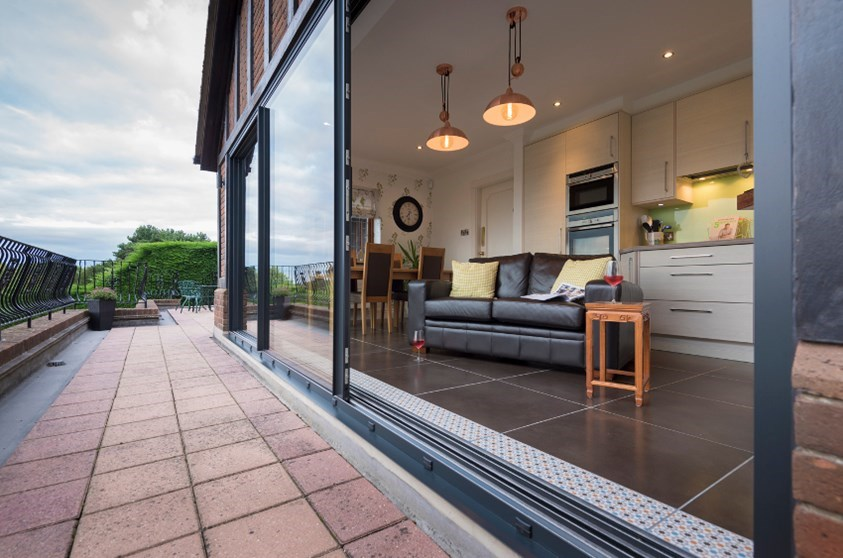 aluminium sliding doors cost warwickshire