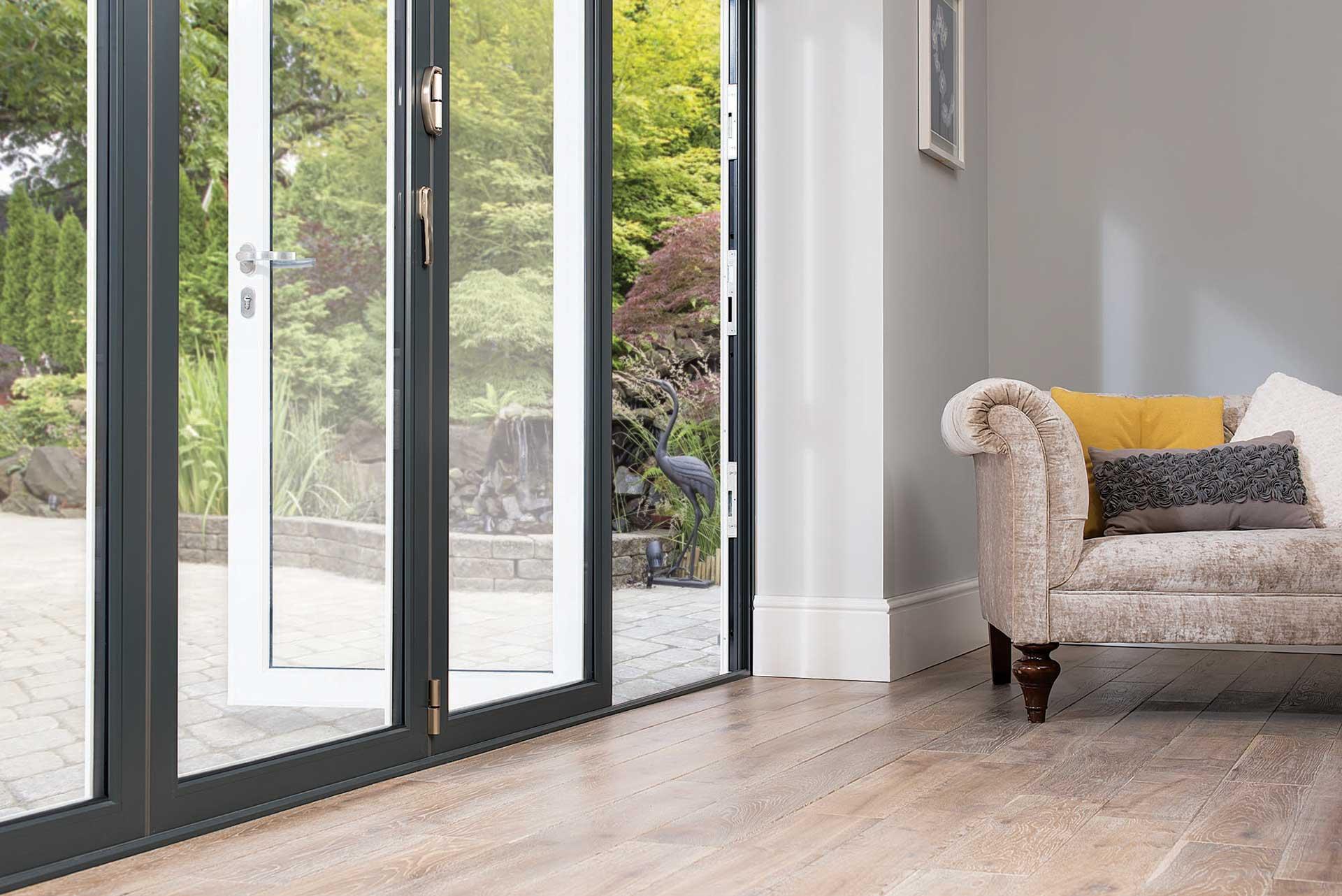 aluminium bifold doors royal leamington spa